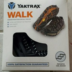 Ice traction for your shoes.